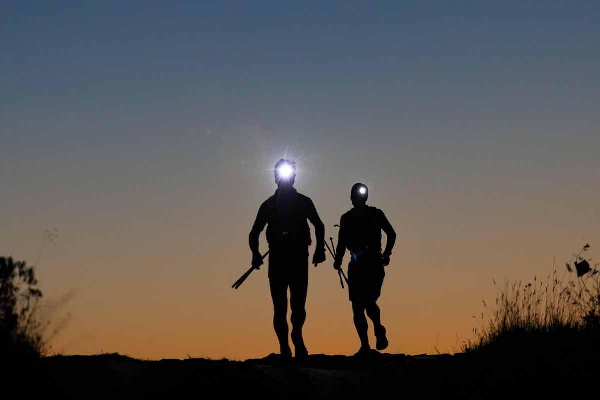 Łemkowyna Ultra-Trail 2019, bieg nocą