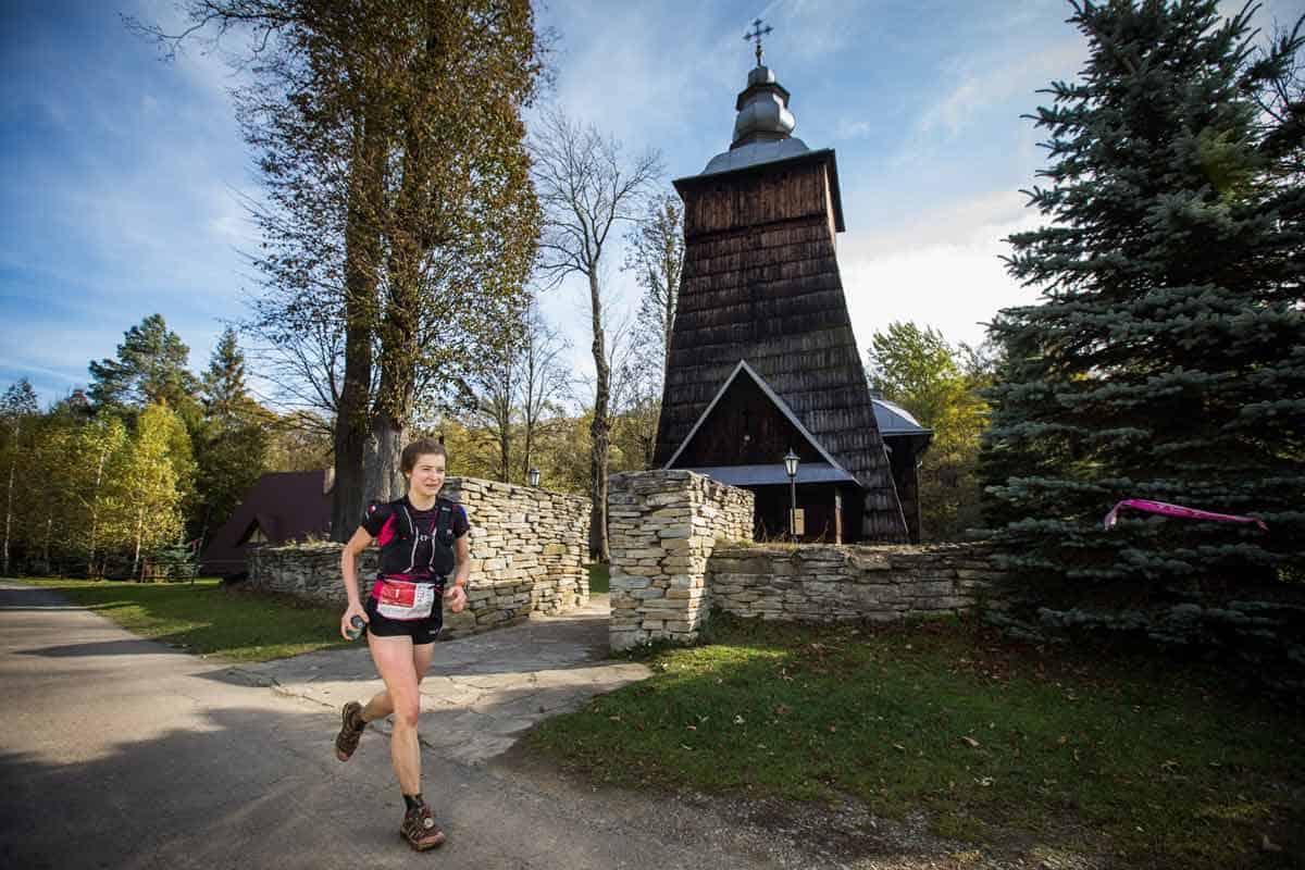 Łemkowyna Ultra-Trail 2019, Beskid Niski, cerkiew