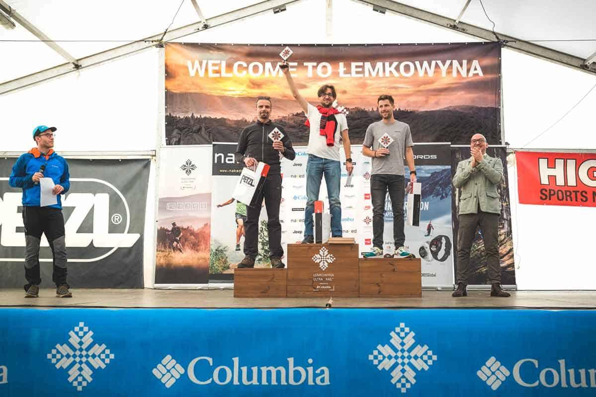 Łemkowyna Ultra-Trail 2019, podium