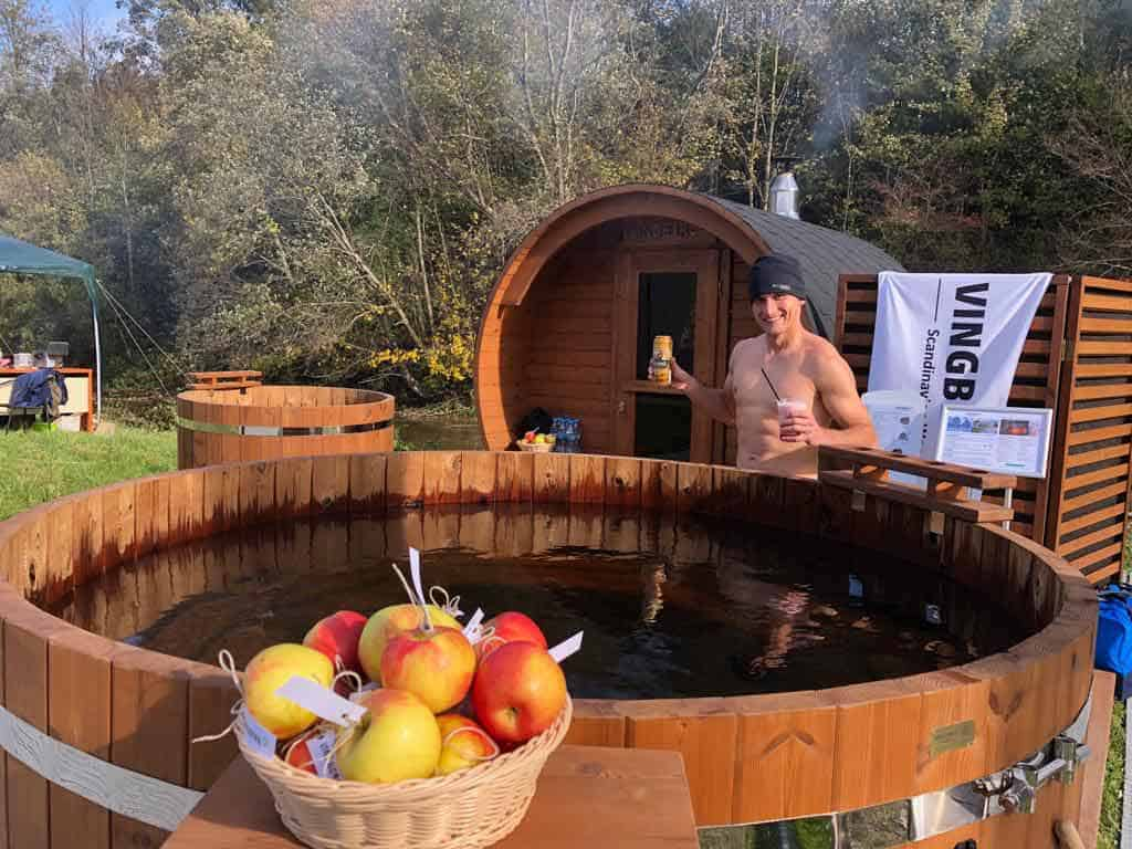 VINGBERG sauna, balia, strefa relaksu, Łemkowyna Ultra-Trail 2019