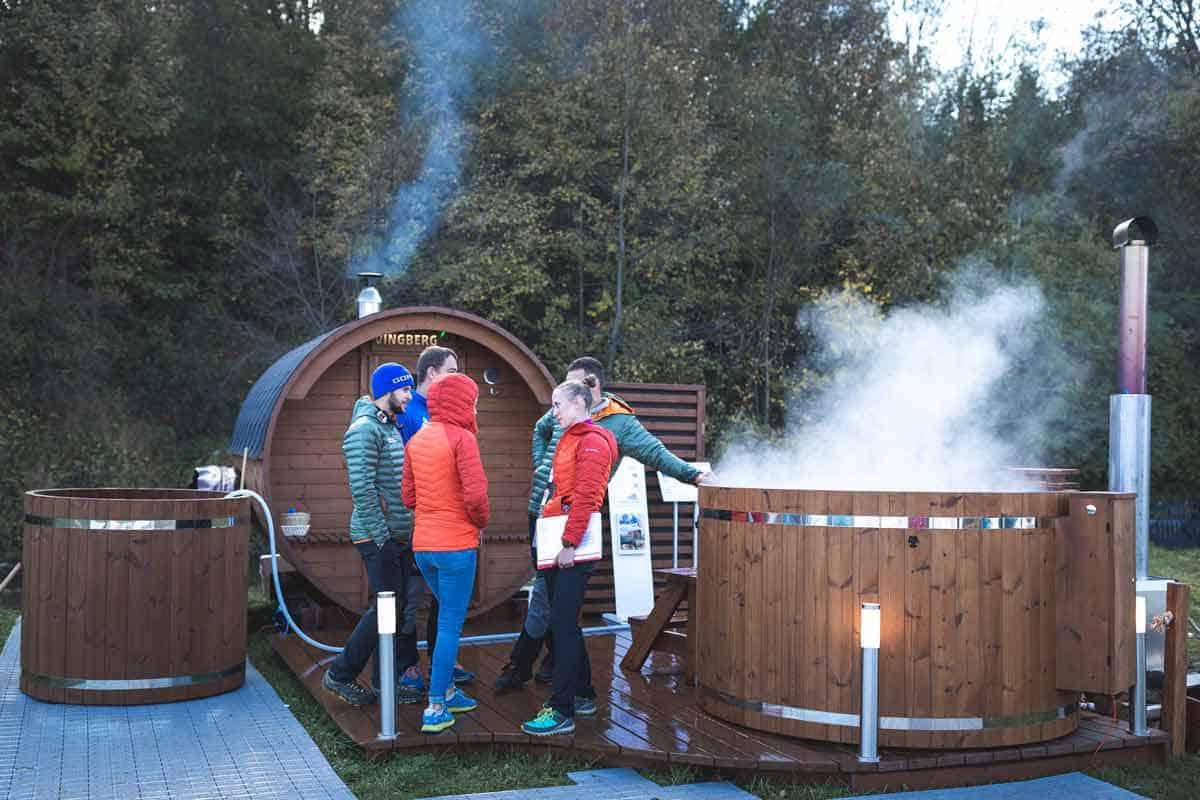 VINGBERG sauna, strefa relaksu