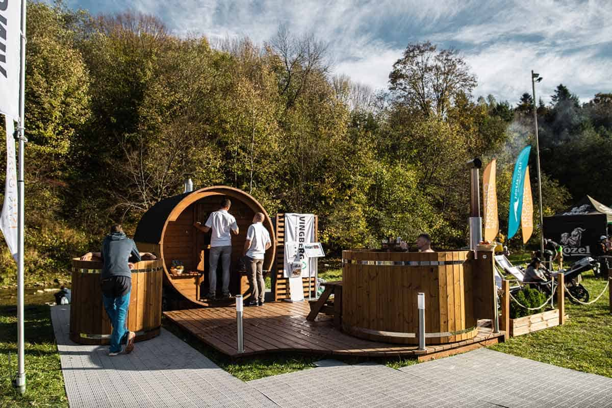 VINGBERG sauna, balia