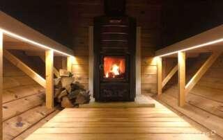 Sauna wooden fired heater Harvia M3