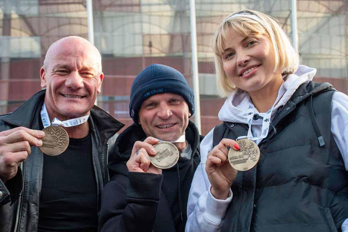 Morsowanie na SNOW EXPO - Piotr Zelt, Mariusz Binduła, Joanna Moro