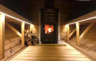 Piec do sauny Harvia na drewno