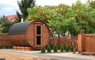 Sauna ogrodowa Akka #330