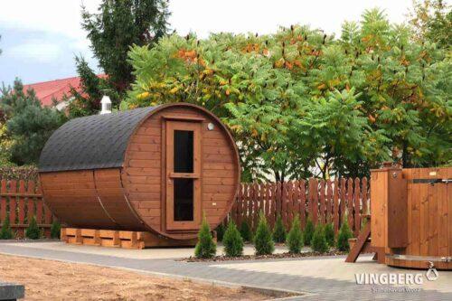 Garden sauna Akka#330- VINBERG