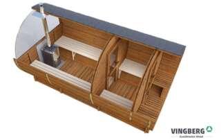 Sauna ogrodowa Akka #420