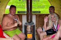 Mistrzostwa Polski w Morsowaniu - sauna VINGBERG