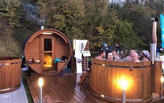 VINGBERG sauna, strefa relaksu, Łemkowyna Ultra-Trail 2019