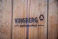 VINGBERG - logo, drewno ThermoWood