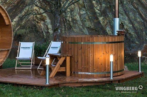 Hot tub Norra #185 with aeromassage system