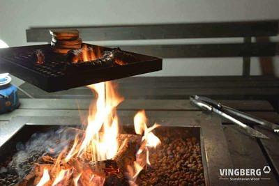 Przygotowywanie jedzenia na grillu