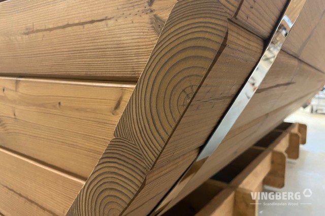 Ściany sauny Vingberg z sosny ThermoWood