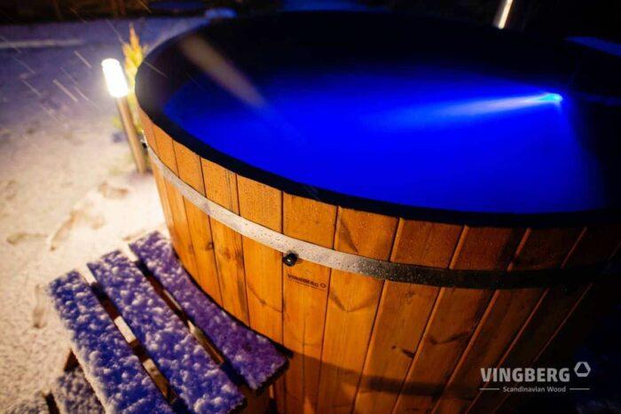 Hot tub Vingberg with LED lighting