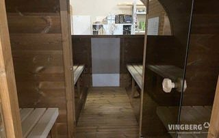 Exclusive sauna made from ThermoWood