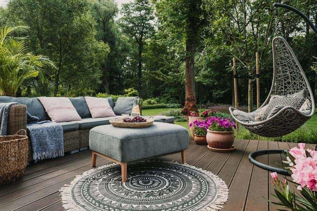 aranżacja ogrodu w stylu skandynawskim