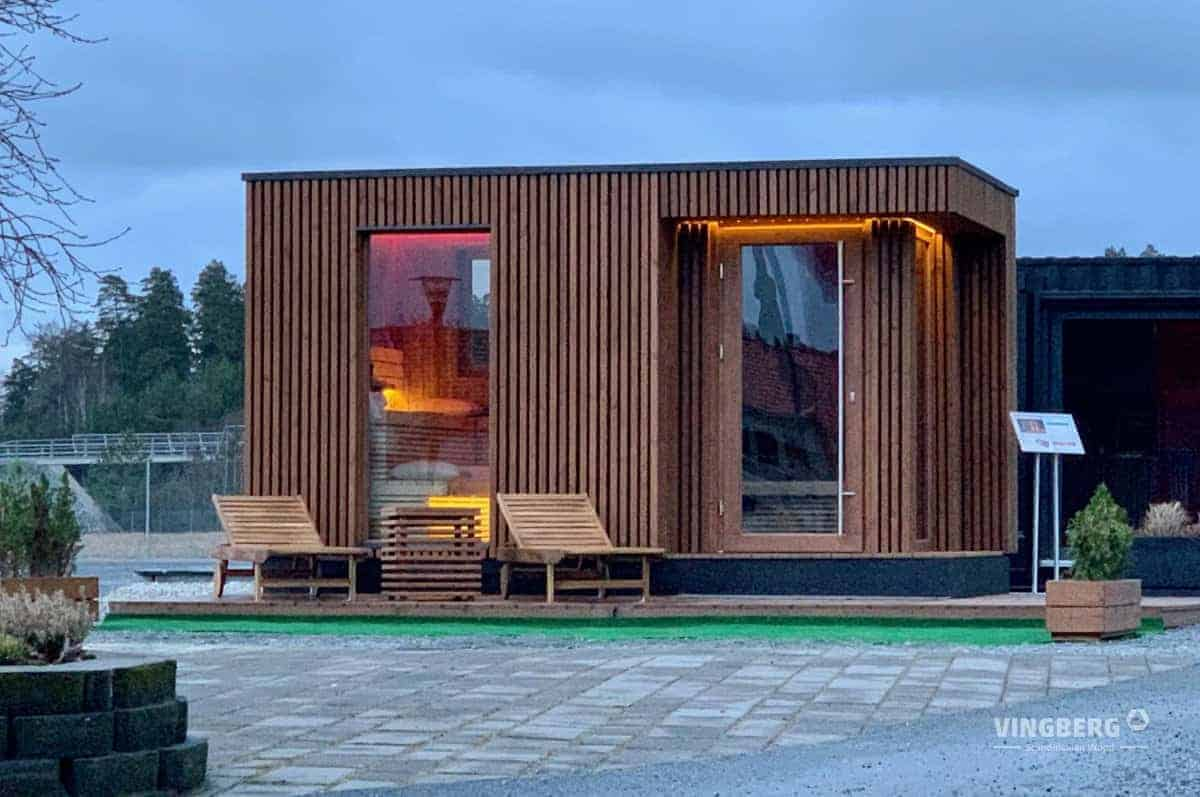 Modern sauna Scandit 10