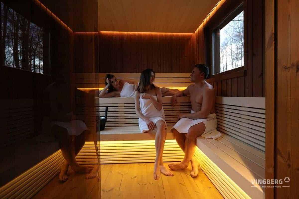 Sauna session in Scandit 10