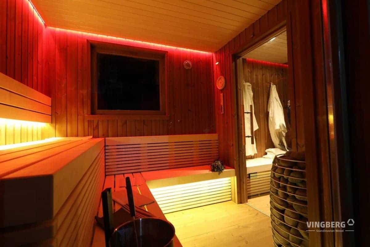VINGBER- Scandit 10 modern garden sauna