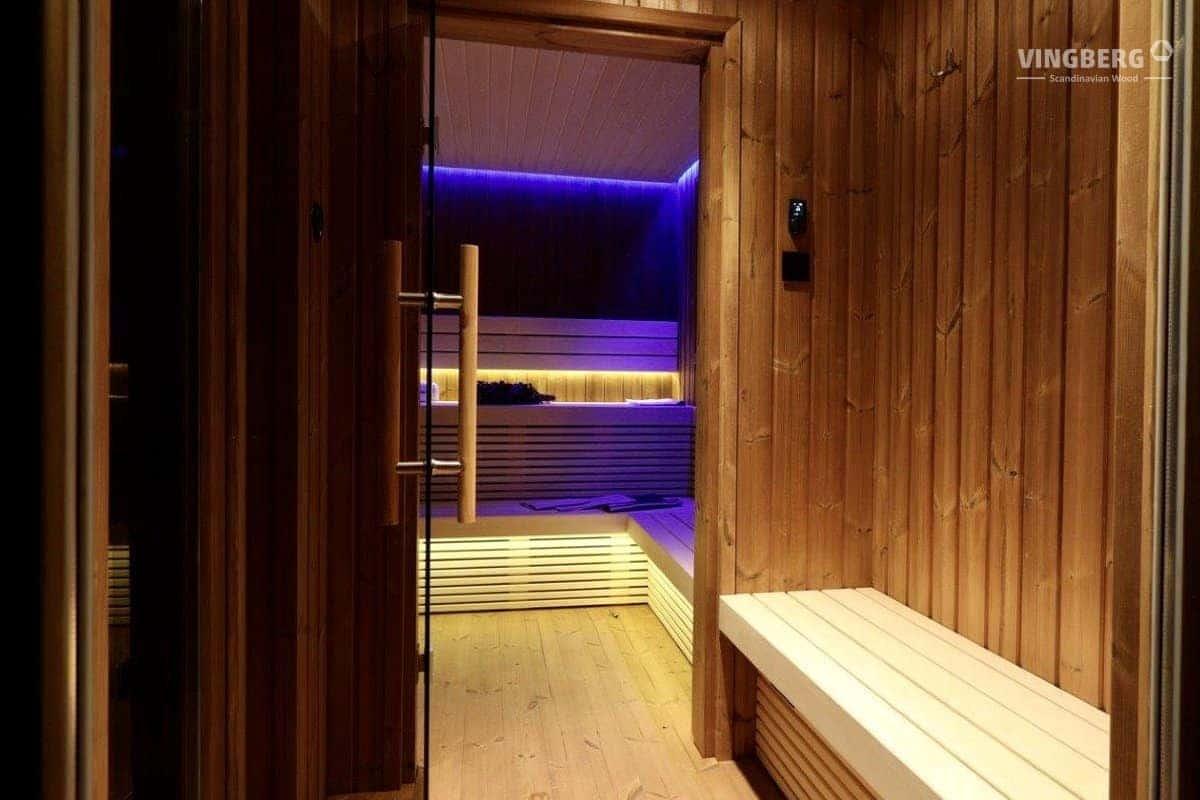 Garden Sauna Scandit 10- interior