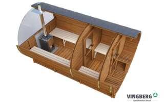 VINGBERG-Sauna-ogrodowa-beczka-Akka380-ThermoWood-okno-panoramiczne