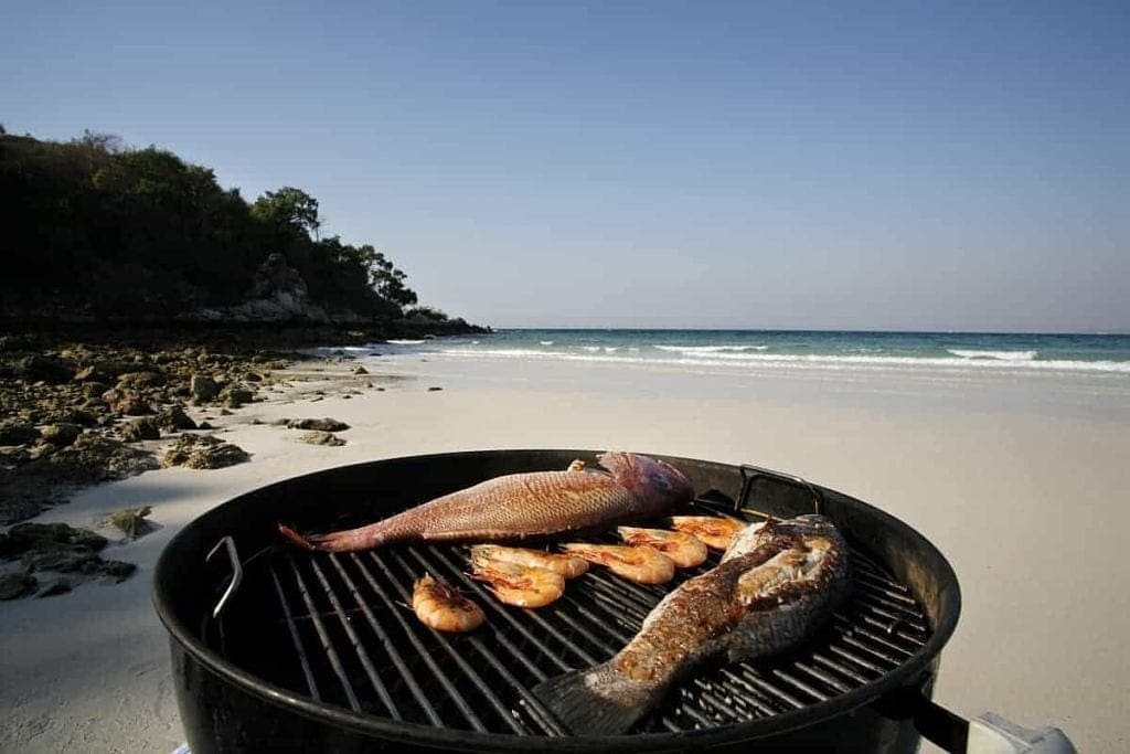 skandynawskie dania na grilla