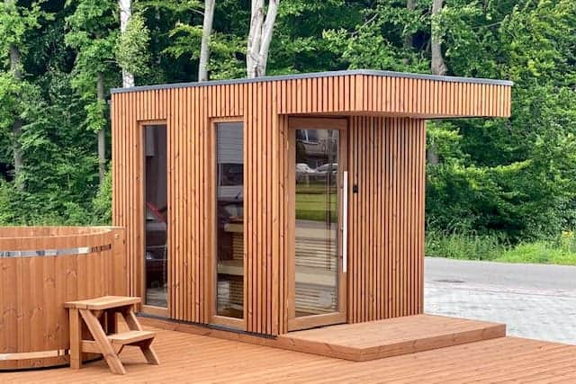 Outdoor Sauna VINGBERG