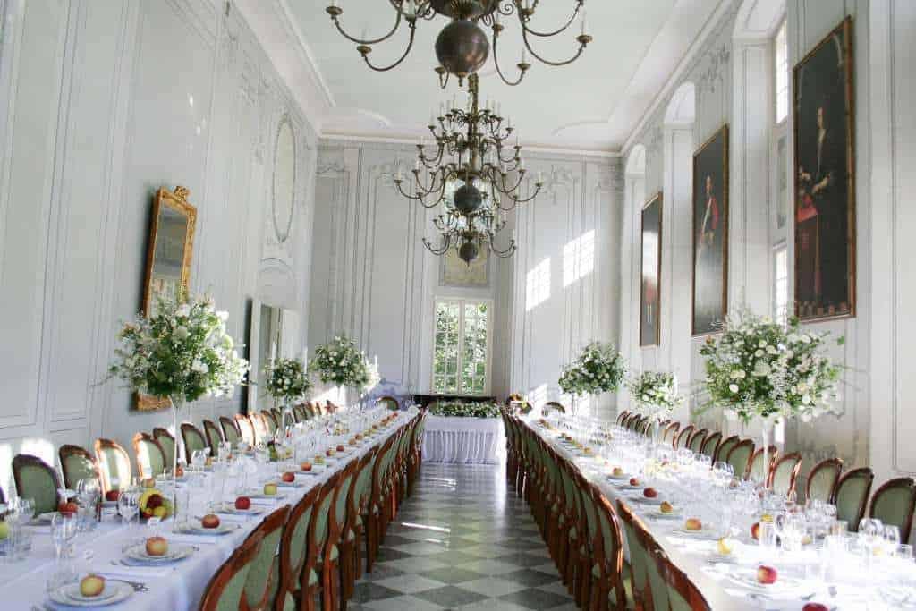 Wnętrze Pałacu w Kurozwękach.