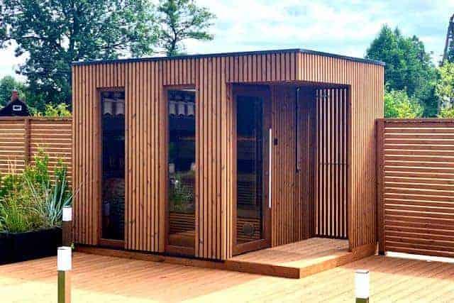 Moderne Gartensauna SCANDIT 8