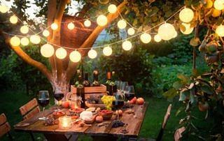 Glamping we własnym ogrodzie