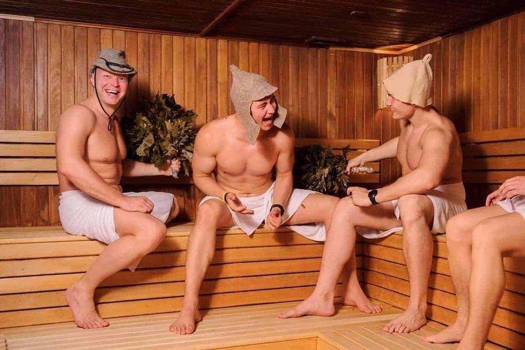 sauna współcześnie