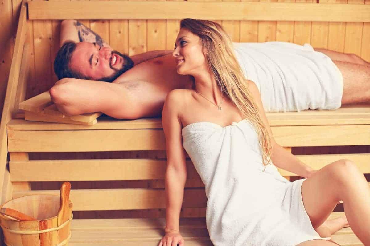 sauna na stres