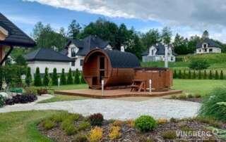 Sauna ogrodowa VINGBERG