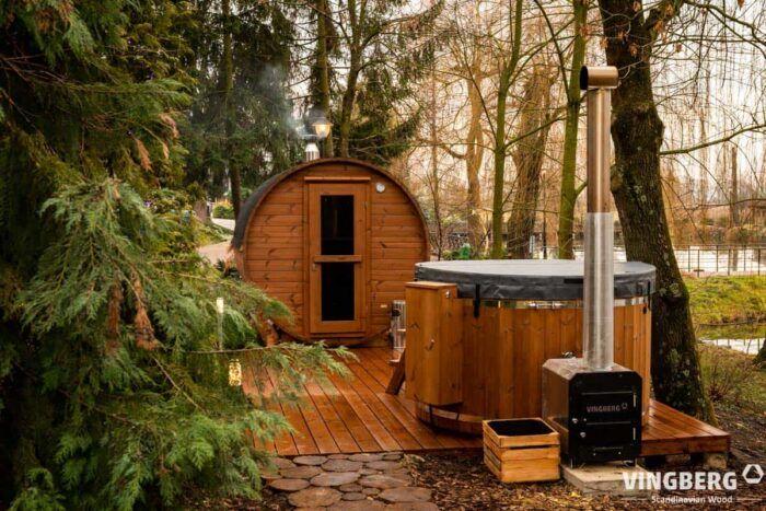 Sauna do ogrodu Akka #330