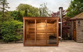 Nowoczesna sauna dla 4 osób