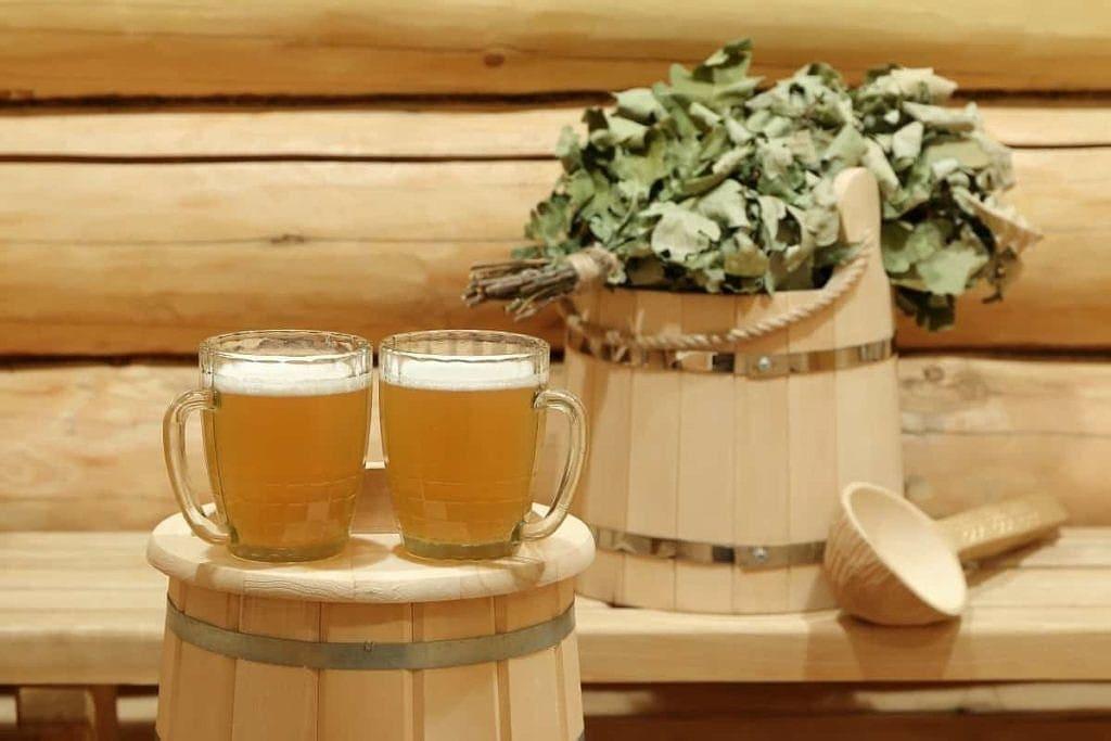 piwo w saunie fińskiej