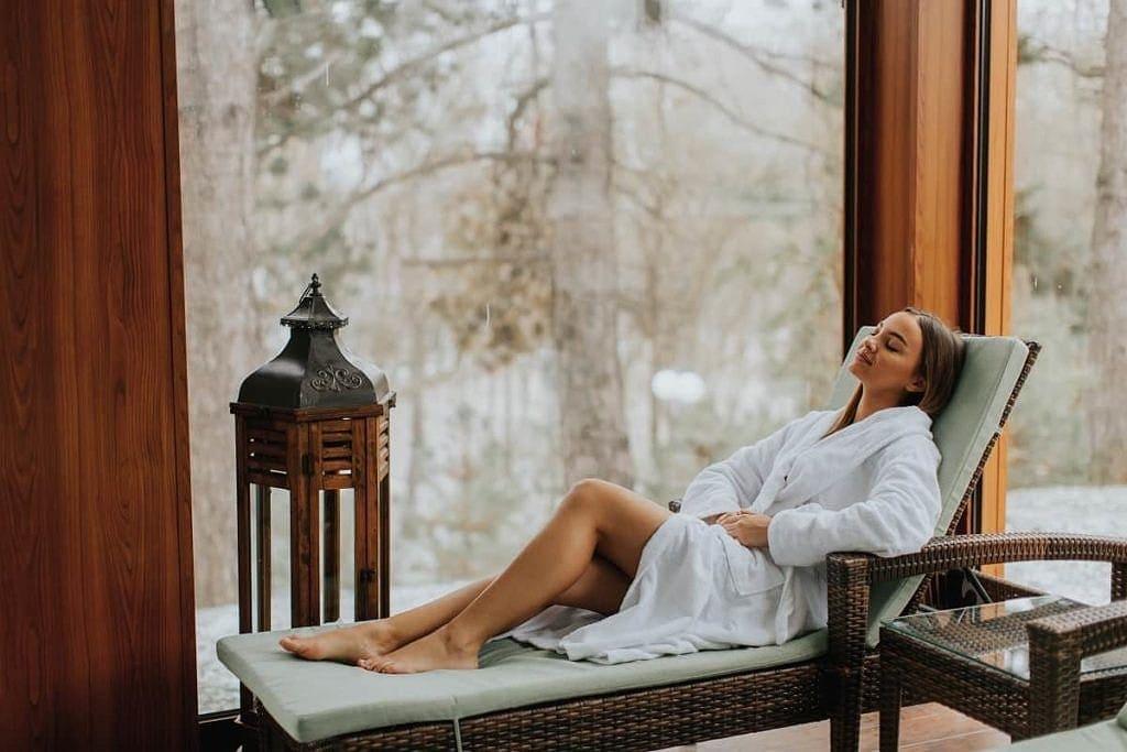 saunowanie i relaks