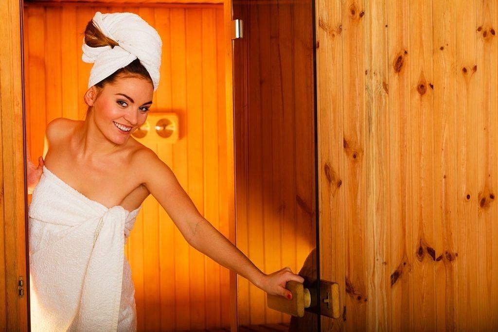 sauna w lecie