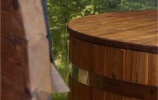 pokrywa drewniana do balii