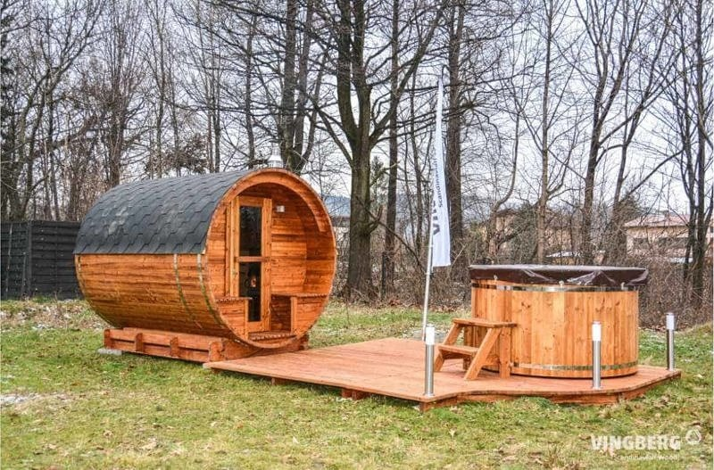Sauna zewnętrzna VINGBERG