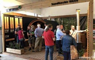 Sauna i balia na targach w Krakowie