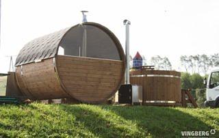 Sauna Vingberg na Dniach Żubra w Lutowiskach