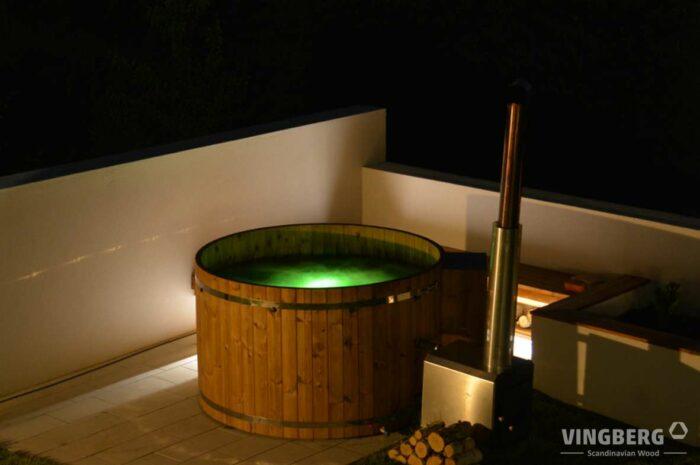 Balia zewnętrzna - własne ogrodowe Spa