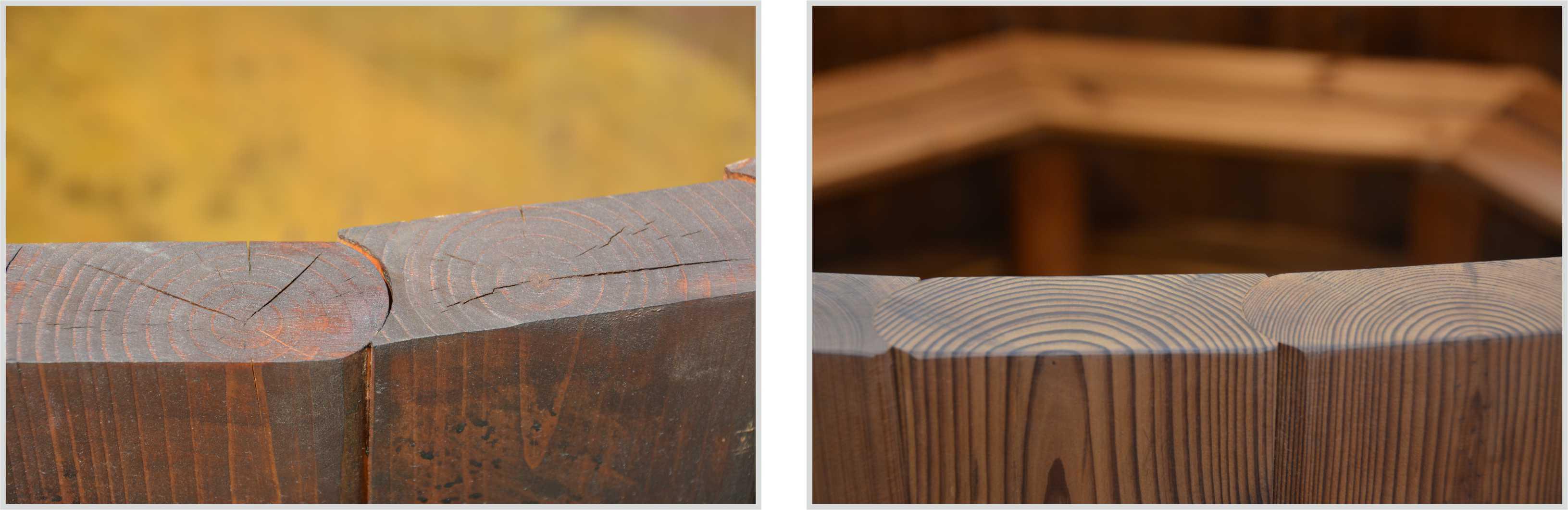 Drewno do balii zewnętrznej z ThermoWood