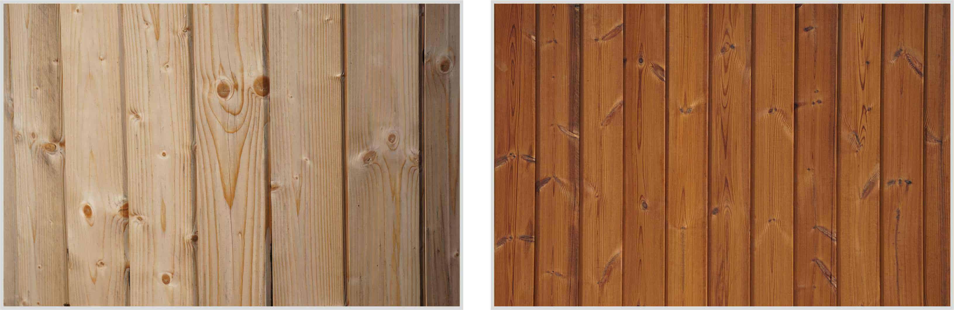 Porównanie drewna naturalnego i ThermoWood