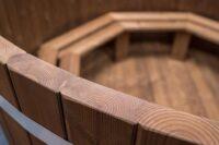 Ekologiczna balia drewniana