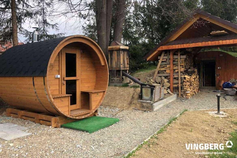 Barrel sauna Akka #280 VINGBERG