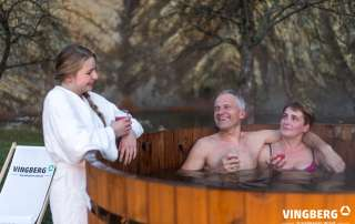 Hot tub from ThermoWood Norra #185