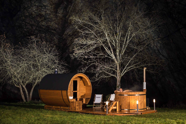 sauna beczka od vingberg
